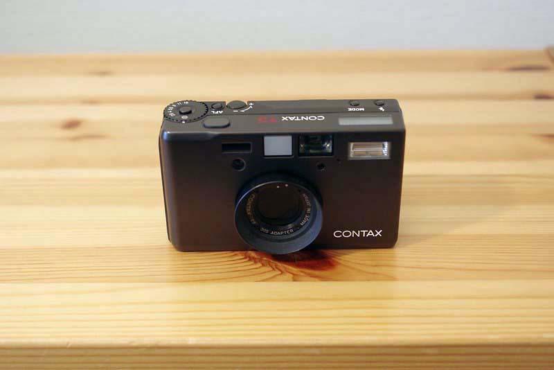 contax t3 film camera