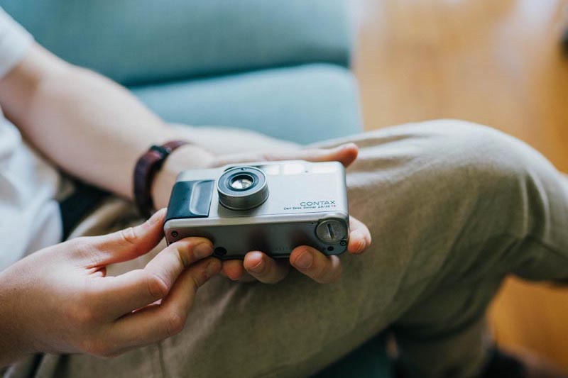 point and shoot film cameras