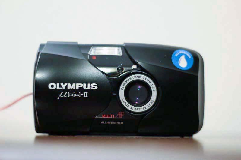 olympus mjuii camera