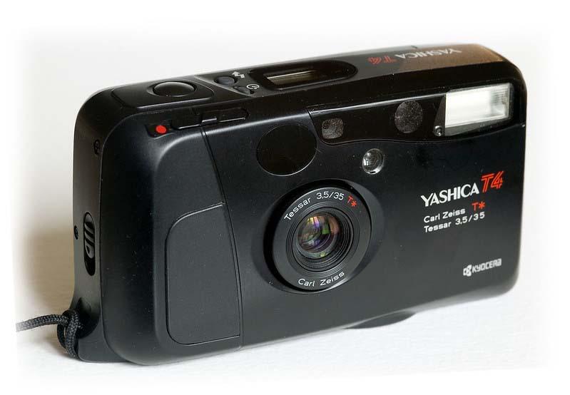 yashica t4 film camera