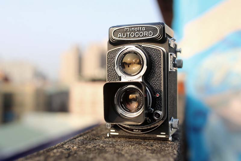 minolta autocord tlr camera