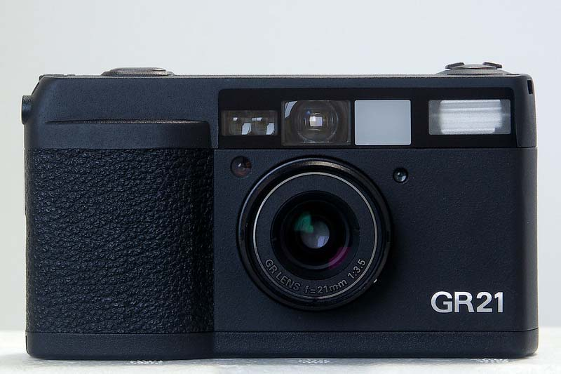 Ricoh GR21 film street camera