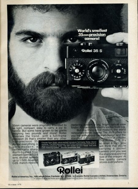 Rollei 35s film street camera