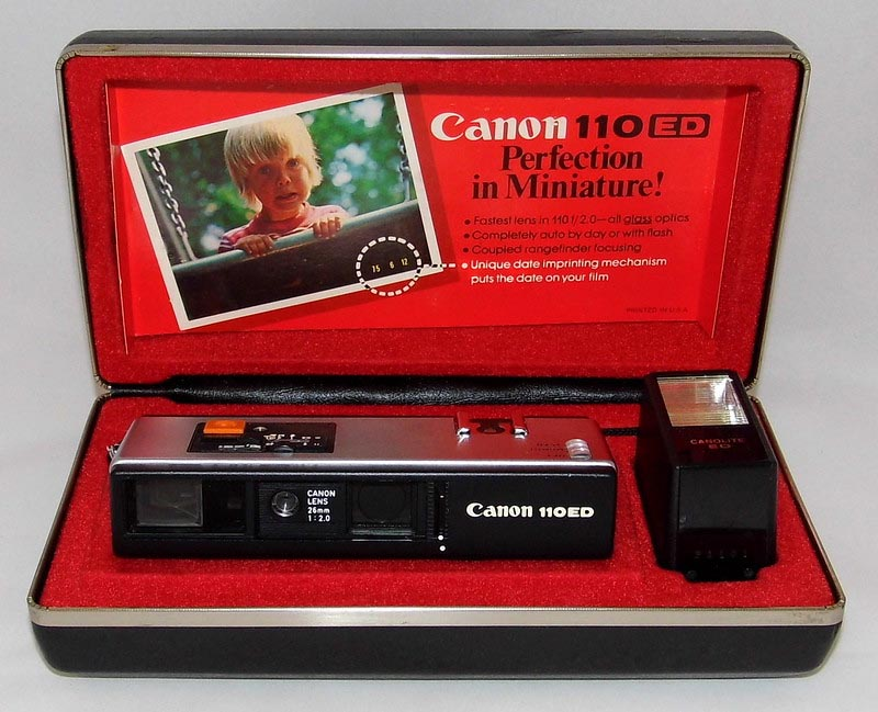 Canon 110 camera 110ed