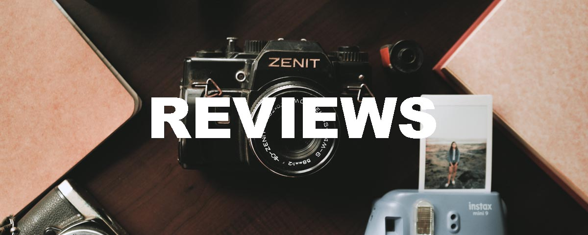 film photography reviews banner