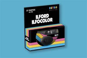 color single use camera by ilford