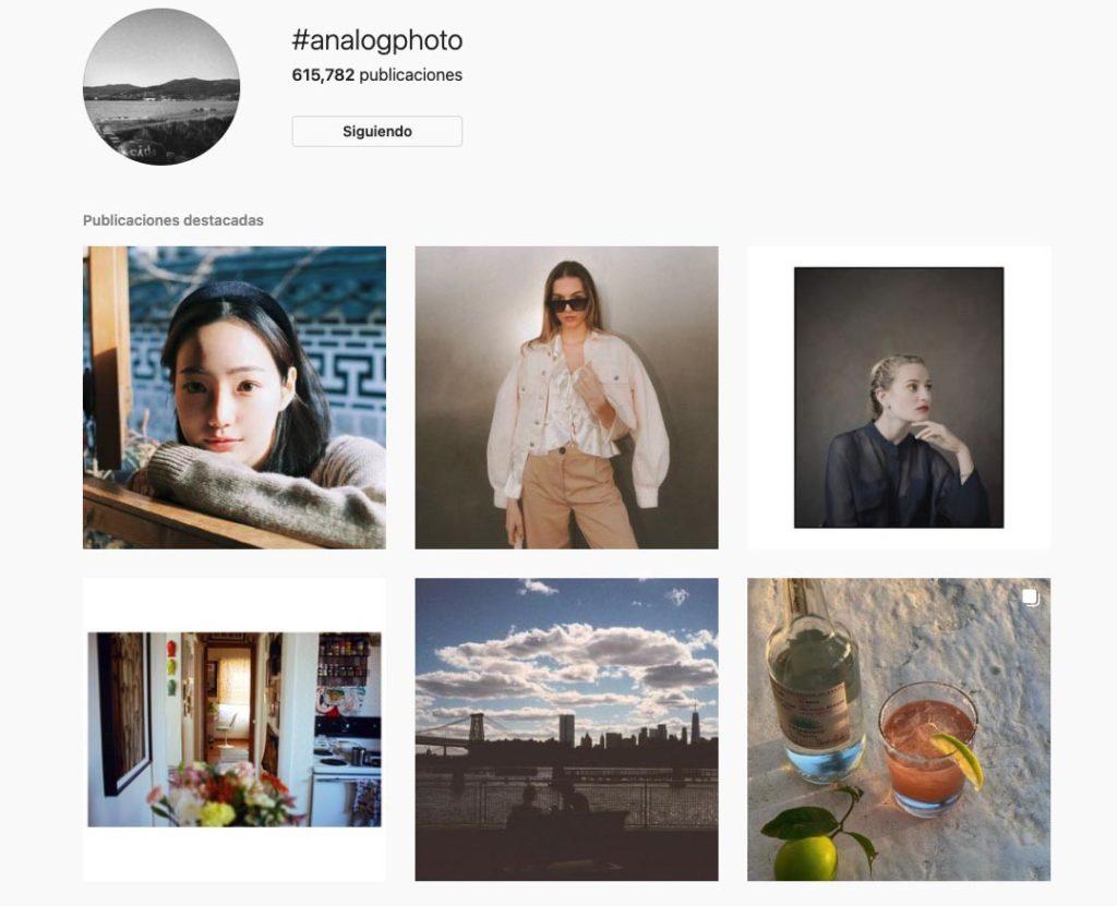 instagram film feed