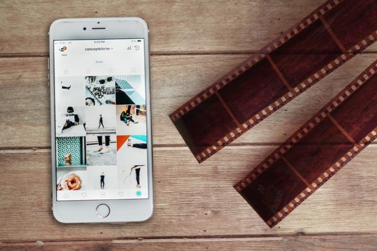 How to Share Your photos from a disposable camera to Instagram?
