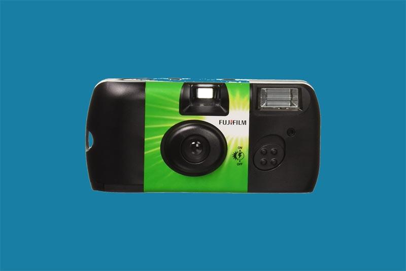 film camera with flash