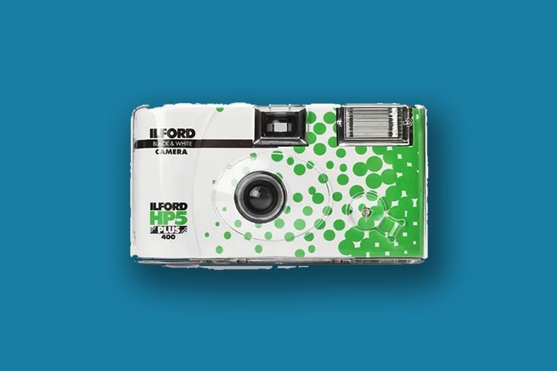 ilford hp5 camera with flash