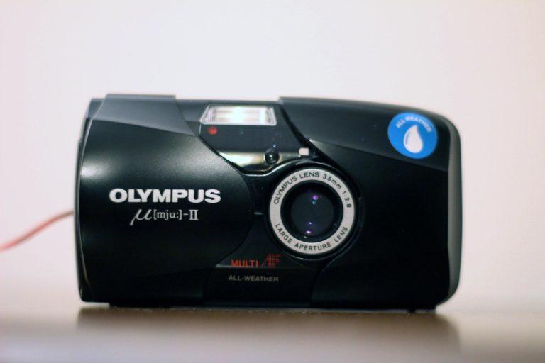 olympus mjuii film camera