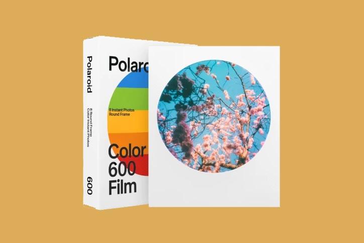 rounded frame film polaroid