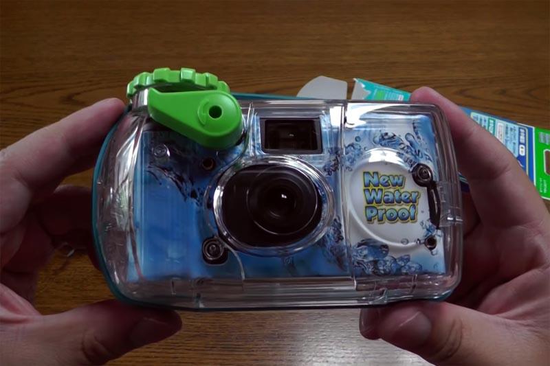 waterproof quicksnap camera