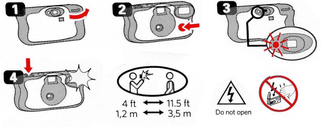 kodak funsaver instructions