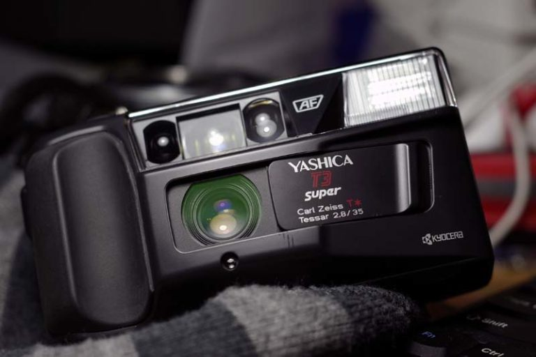 yashica t3 point and shoot