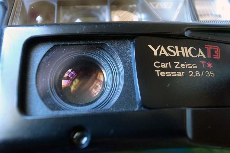 yashica t3 lens