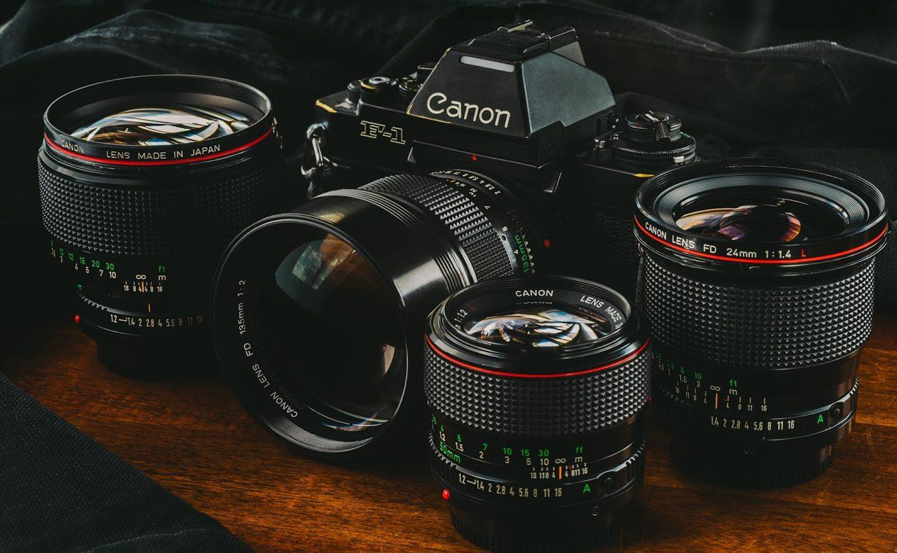 canon f1 lens