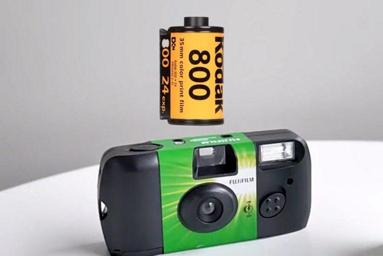 fuji camera kodak film