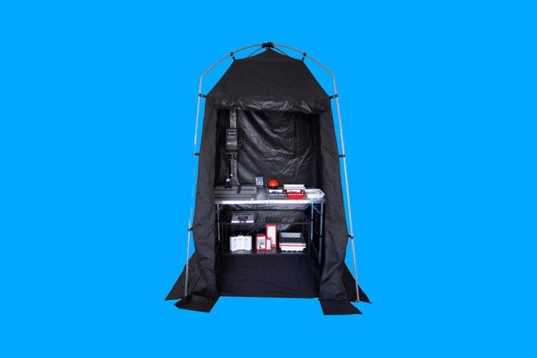 ilford portable darkroom